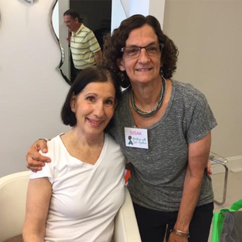 Angela DeFonce (Left)