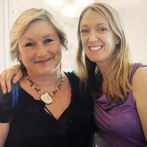 Pam Smith (left)